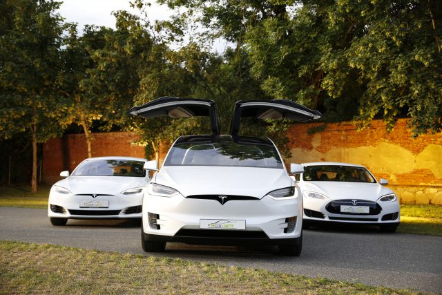 Tesla Model S Facelift, Model X und Model S Oldface