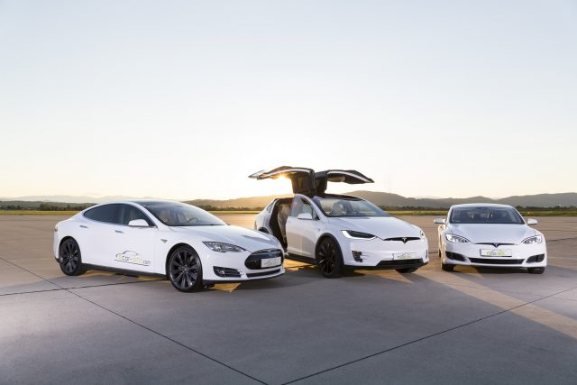 Tesla Model S, Model X, Model S Facelift