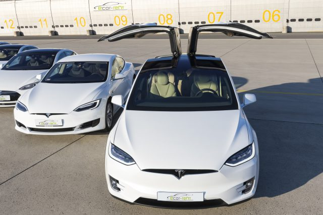Tesla Model X und Model S Facelift