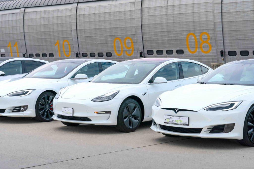 Tesla Model 3 fleet shooting 2018