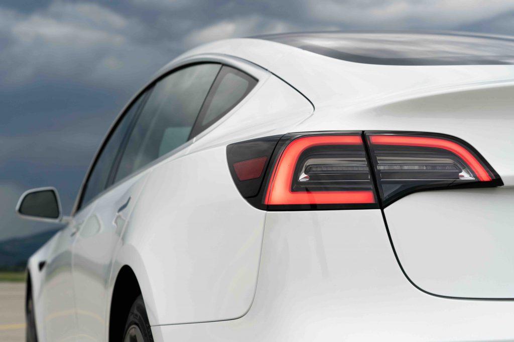 Tesla Model 3 back